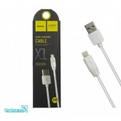 Дата-кабель USB HOCO для Apple 8-pin X1 2м White