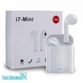 Bluetooth-наушники I7 mini TWS Double White
