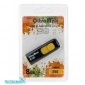8GB флэш драйв OltraMax 250 (Yellow)