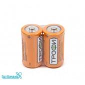Батарейка ТРОФИ R14 SH2 (33713)