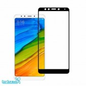 Защитное стекло Xiaomi Redmi 5 Plus (полное покрытие) Premium (черный)