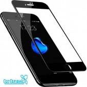 Защитное стекло iPhone 7/8 (полное покрытие) (черный) (тех упаковка)