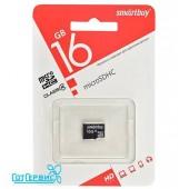 Карта памяти SmartBuy 16GB Micro-SD class 4 (без адаптера)