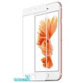 Защитное стекло iPhone 6 Plus/6S Plus (полное покрытие 5D) (белый) (тех упаковка)