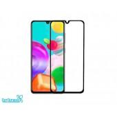 Защитное стекло для Samsung Galaxy A31 (A315F) (тех упаковка) (черный)
