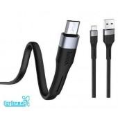 Дата-кабель USB 3A для Type-C HOCO X34 1м (Black)