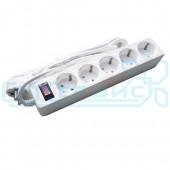 Сетевой фильтр SmartBuy One 5 розеток 10А 2200W белый 3 м
