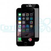 Защитное стекло iPhone 6/6S (полное покрытие) антишпион (черный) (тех. уп.)
