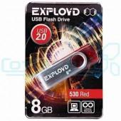 Накопитель USB 8Gb Exployd 530 Red