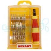 Отвертки для точечных работ REXANT (32 предмета)
