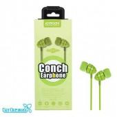 Наушники JOYROOM stereo JR-EL112 Conch plastic (Green)