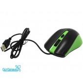 Мышь проводная SmartBuy ONE 352 USB черно/зеленая